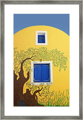 Decorated House Framed Print
