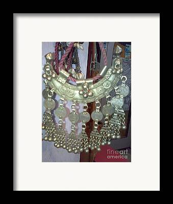 Ethnic Jewellary Framed Prints