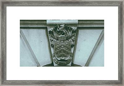Decorative Keystone Architecture Details C Framed Print