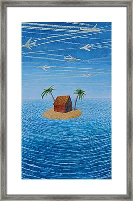 Decreasing Destinations Framed Print by Adrian Jones