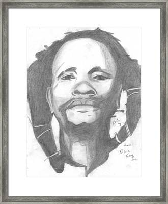 Dedan Kimathi Framed Print by Chris Gitau