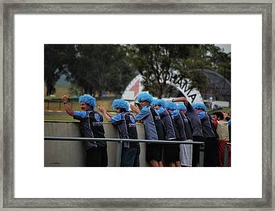 Dedicated Fans Framed Print by Cheryl Hall