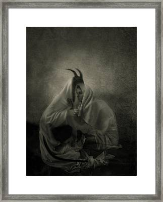 Dedicated Soul Framed Print by Cambion Art