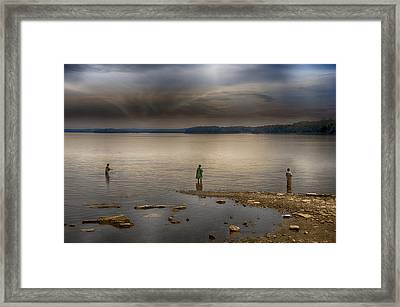 Dedication Framed Print by Steven  Michael