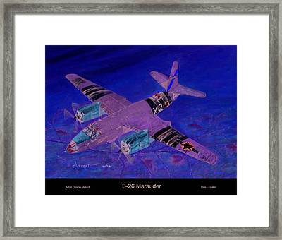 Dee-feater Framed Print by Dennis Vebert