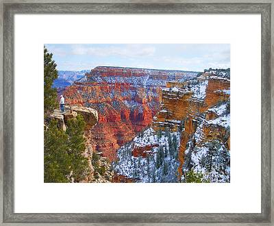 Framed Print featuring the photograph Deep And Wide by Roberta Byram
