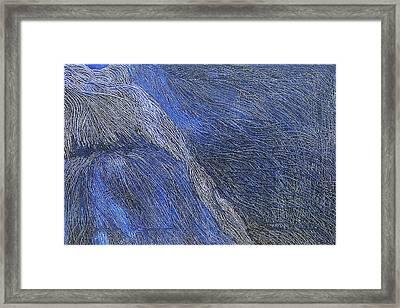 Deep Blue  Framed Print by Prakash Bal Joshi