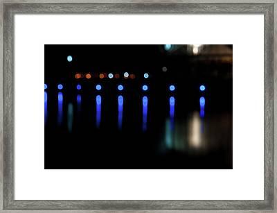 Deep Blue Framed Print by Tim Nichols