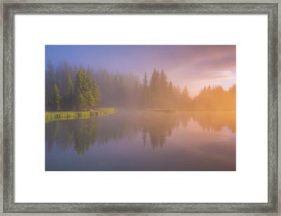 Deep Breath Framed Print by Darren White