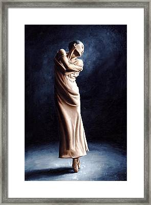 Deep Consideration Framed Print by Richard Young