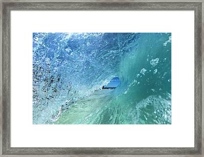 Deep Crystal Framed Print by Sean Davey