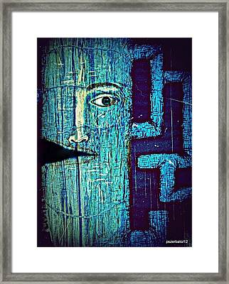 Deep Cut Framed Print by Paulo Zerbato