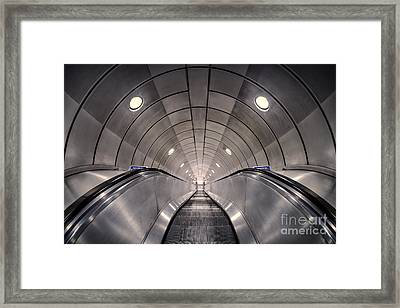 Deep Down Below Framed Print