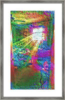 Deep Dream Framed Print