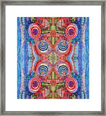 Deep Dream Tweedledee Framed Print