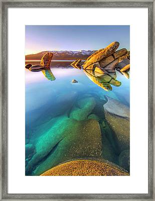 Deep Dreaming Framed Print by Steve Baranek