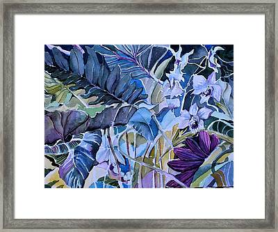 Framed Print featuring the painting Deep Dreams by Mindy Newman