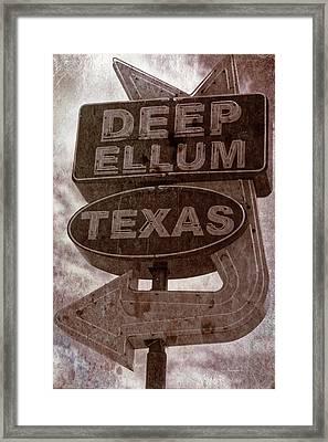 Deep Ellum Texas Framed Print by Jonathan Davison