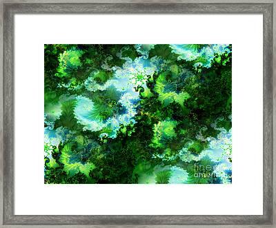 Deep Fractal  Framed Print