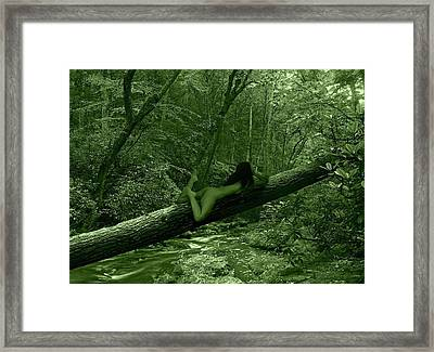 Deep Green  Framed Print by Ms Martino