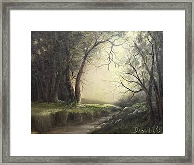Deep Hollow  Framed Print