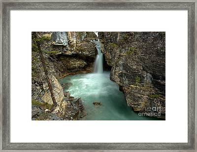 Deep In Beauty Creek Framed Print