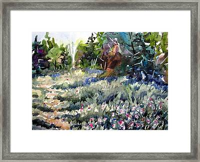 Deep In Clover Framed Print by Chito Gonzaga