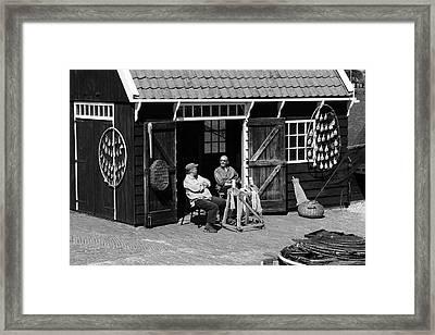 Deep In Conversation  Framed Print by Aidan Moran