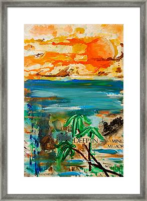 Deep In Mind Memory Framed Print by Nathan Paul Gibbs