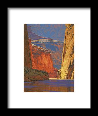 Canyons Framed Prints
