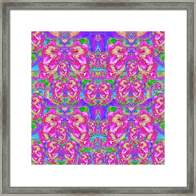 Deep In The Floral Forest Of Peace And Soul Framed Print