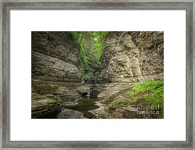 Deep In The Gorge  Framed Print by Michael Ver Sprill