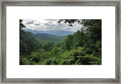 Deep In The Great Smoky Mountains Framed Print by John Arthur Robinson