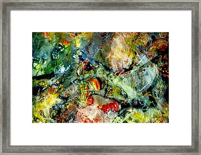 Deep In The Sea Framed Print by Norma Boeckler