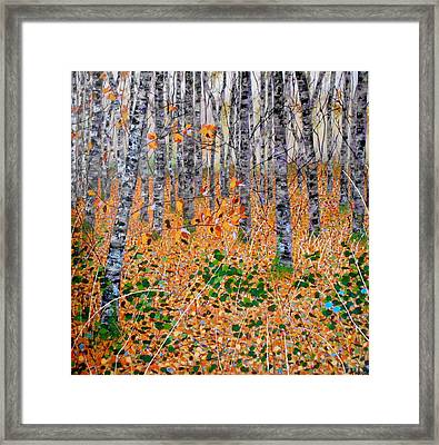 Deep In The Woods- Large Work Framed Print