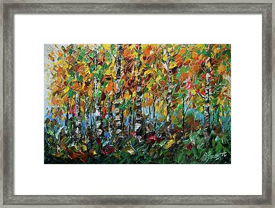 Deep In The Woods Framed Print