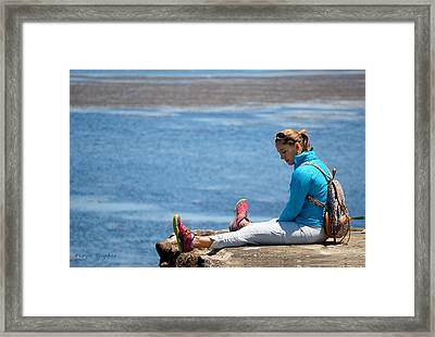When You Fall In Love 1 Framed Print