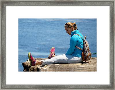 When You Fall In Love 4 Framed Print