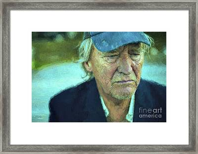 Deep In Thought Framed Print by Jutta Maria Pusl