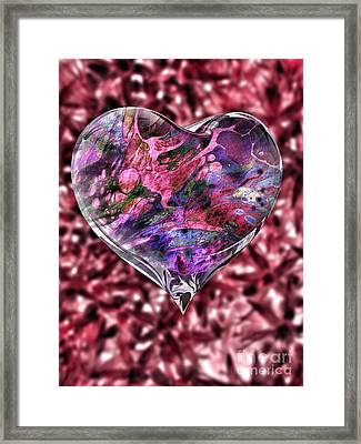 Deep Love Framed Print