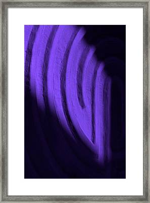 Deep Maze Framed Print