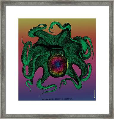 Deep Monster Number Two Framed Print by Eric Edelman