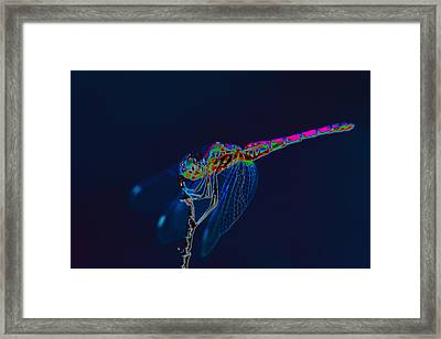 Deep Ocean Dragon Framed Print