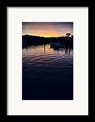 Port Dickson Framed Prints