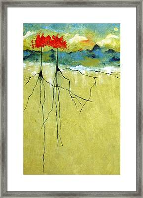 Deep Roots Framed Print by Ruth Palmer