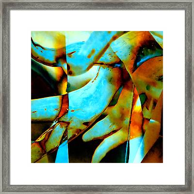 Deep-sea Corals - Abstract Framed Print by Stacey Chiew