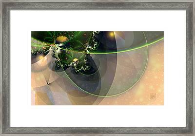 Deep Sea Framed Print by Dan Turner