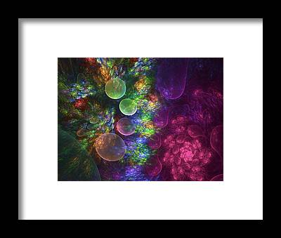 Fractal Framed Prints