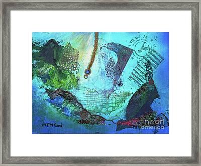 Deep Sea Life Framed Print