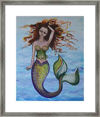 Deep Sea Style Framed Print